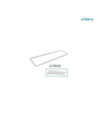 Aluminium frame 300x1200x43mm, white