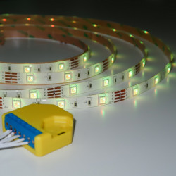 LED RGB light strip with Wi-Fi Controller