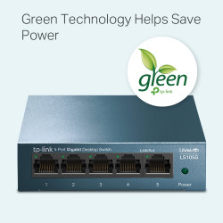Switch 5 porturi Gigabit metalic TP-Link LS105G