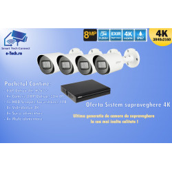 KIT DVR/XVR - Dahua 4K, 8MP - Best high definition quality