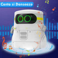 Smart Robot Toys GILOBABY STEM ,Voice Control&Touch Sense, Dance&Sing&Walk