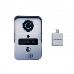 Smart Doorbell Wifi Video Intercom, HD Camera, Android/IOS apk, Motion Sensor, Alarm, IR