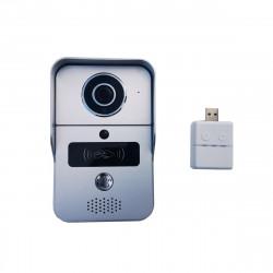 Videointerfon Inteligent, Wi-Fi & RJ45, POE si control acces RFID integrat