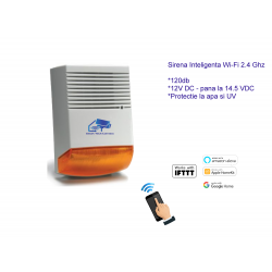 Smart Siren 120dB - Wi-Fi Controlled