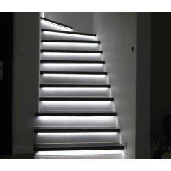 KIT Iluminat inteligent pentru scari, cu mini senzori individuali si control din aplicatie mobila