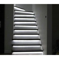 Smart Led Strip Syncronised for 20 stairs - KIT