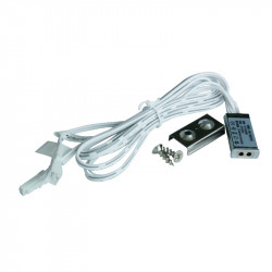 Mini senzor pentru iluminat dulap, sertar, dressing, alimentare 5-24 VDC, 5A, si functie de dimare la aprindere/stingere
