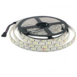 LED strip RGBW IP65 60led/M ( RGB + cool white ), 5m