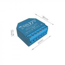 Shelly 1L - Releu Smart Wi-Fi pentru automatizari, fara NUL