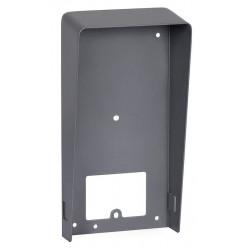 Carcasa protectie videointerfon, otel, montaj aparent, Hikvision, DS-KABV8113-RS/S