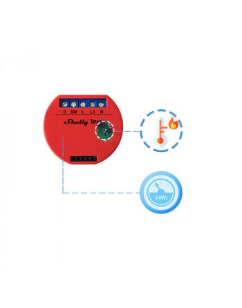 Releul Wi-Fi Shelly 1 PM te ajuta sa monitorizezi consumul, controlezi si automatizezi dispozitive non-inteligente
