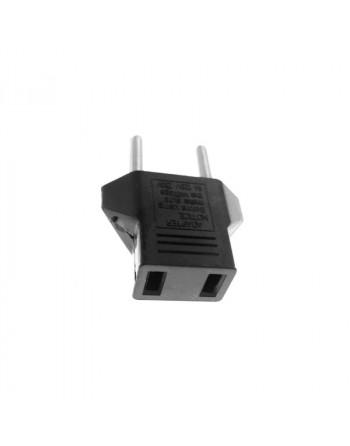 US to EU plug adapter